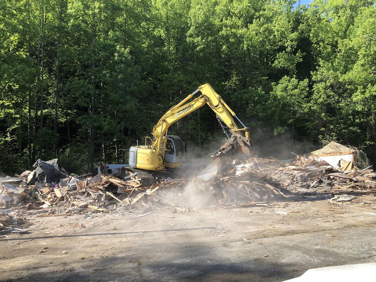 Old Gibbs Motel finally demolished