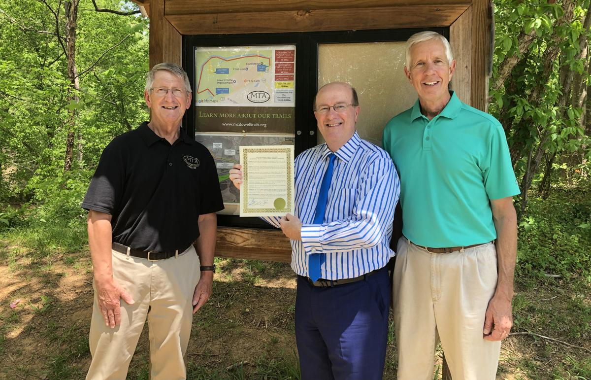 Thursday is McDowell Trails Association Appreciation Day in Marion