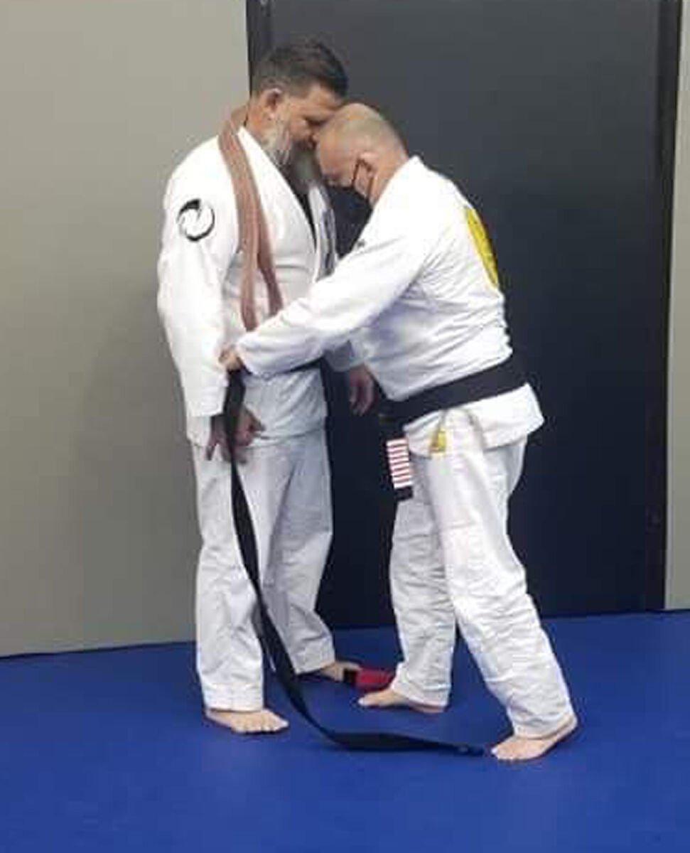 Marsh earns BJJ black belt