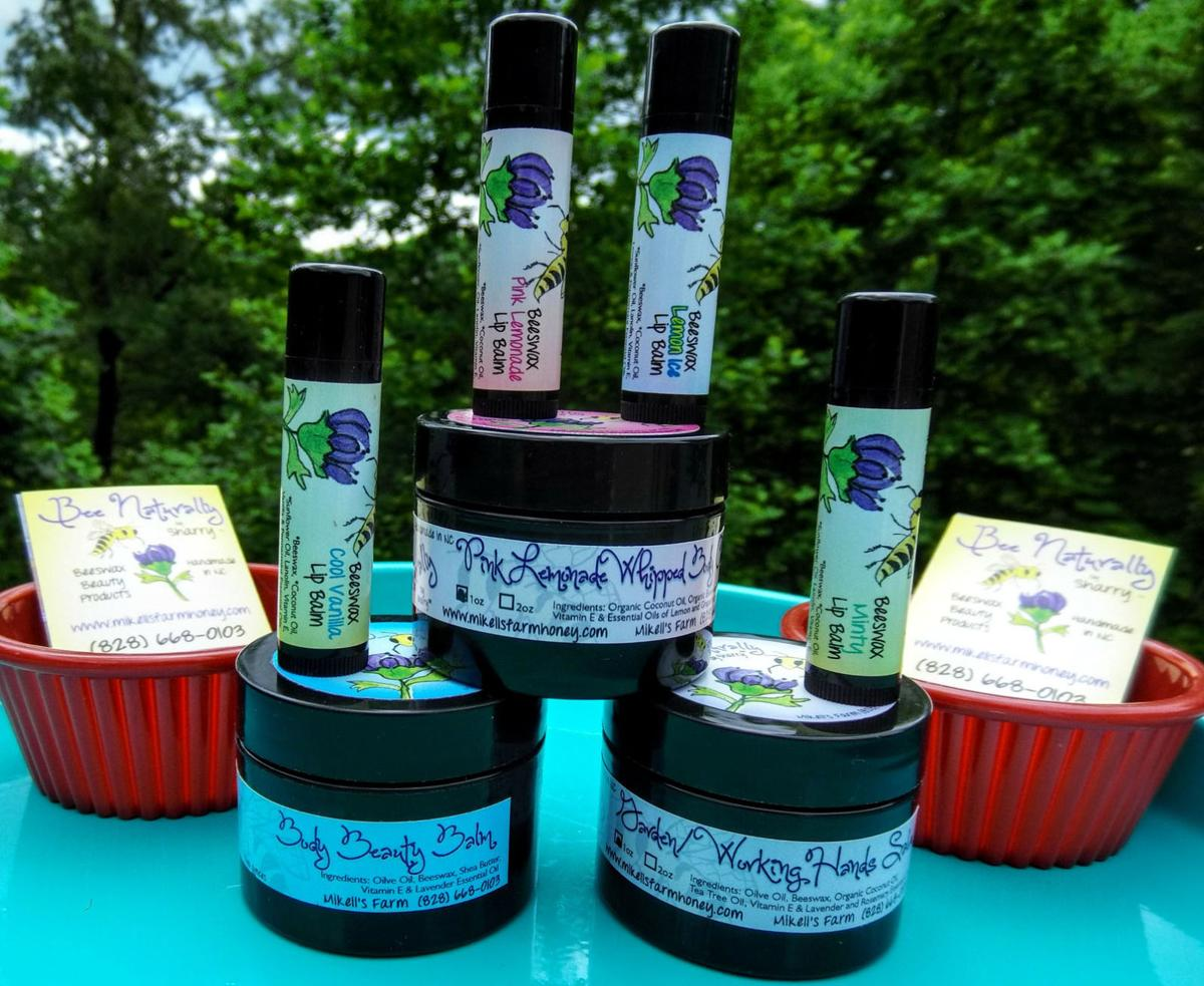 Local honey business has products at Biltmore Estate, Blue Ridge Parkway