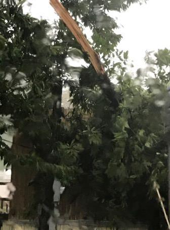 Storm leaves path of destruction in McDowell