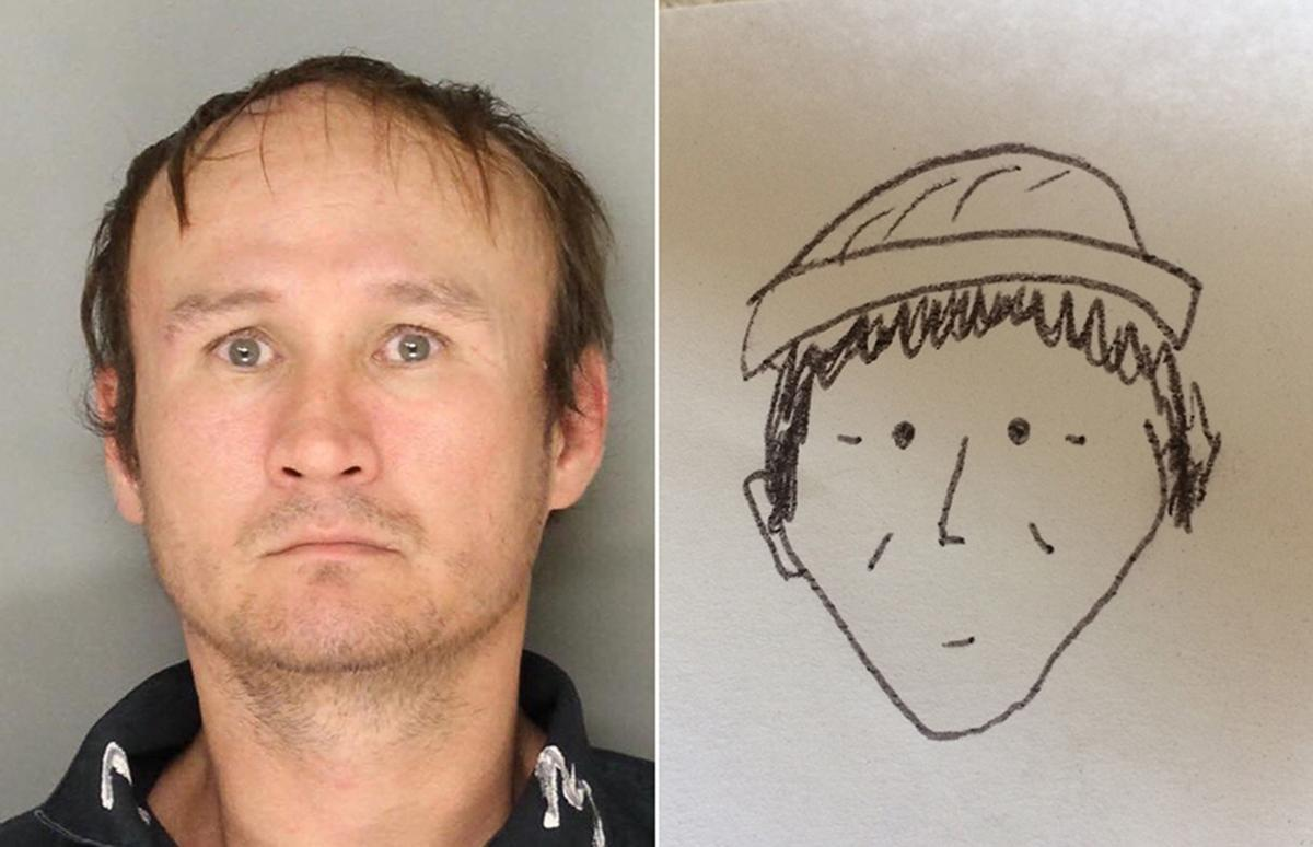 A witness drew a terrible sketch to help police identify a suspect; it actually worked