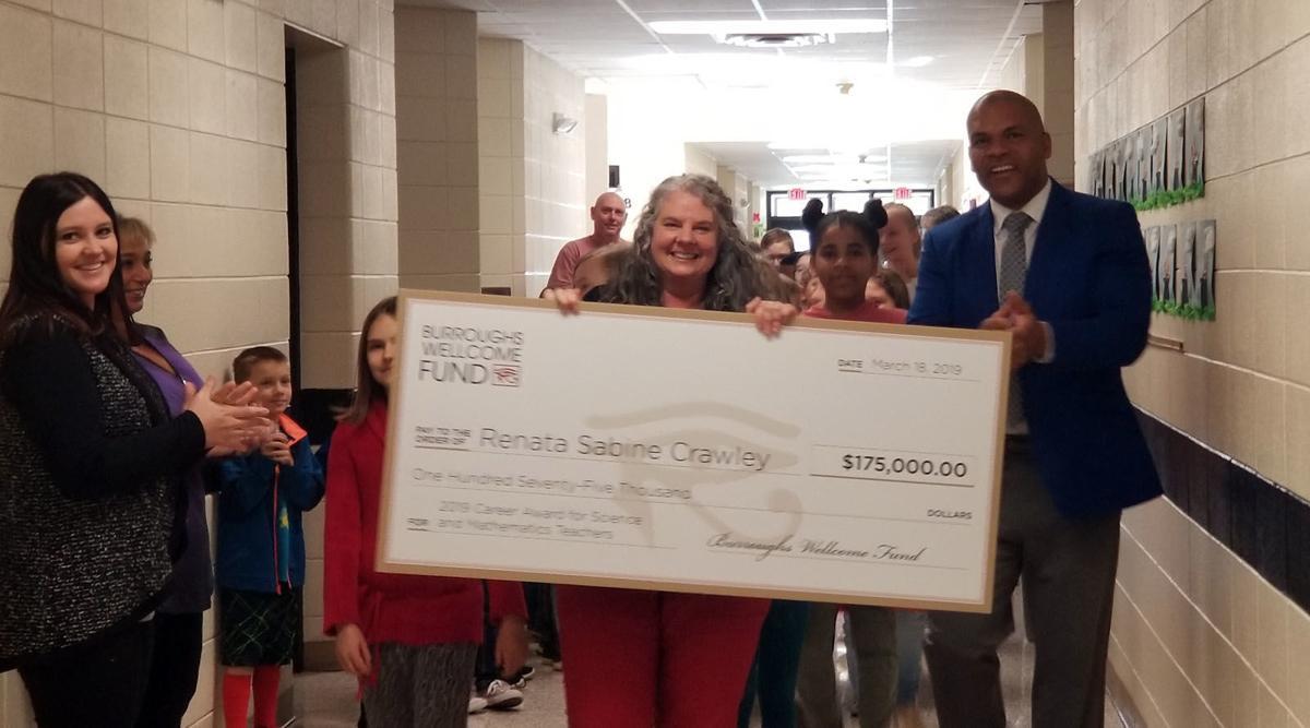 $175K boost for science: West Marion teacher lands major grant