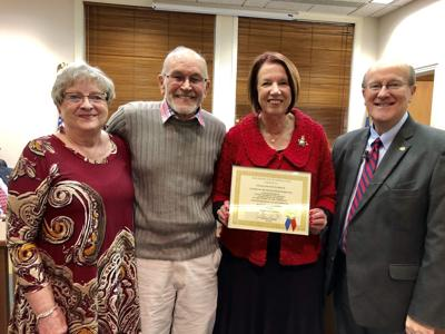 Oscar and Joyce Creech are Citizens of the Month