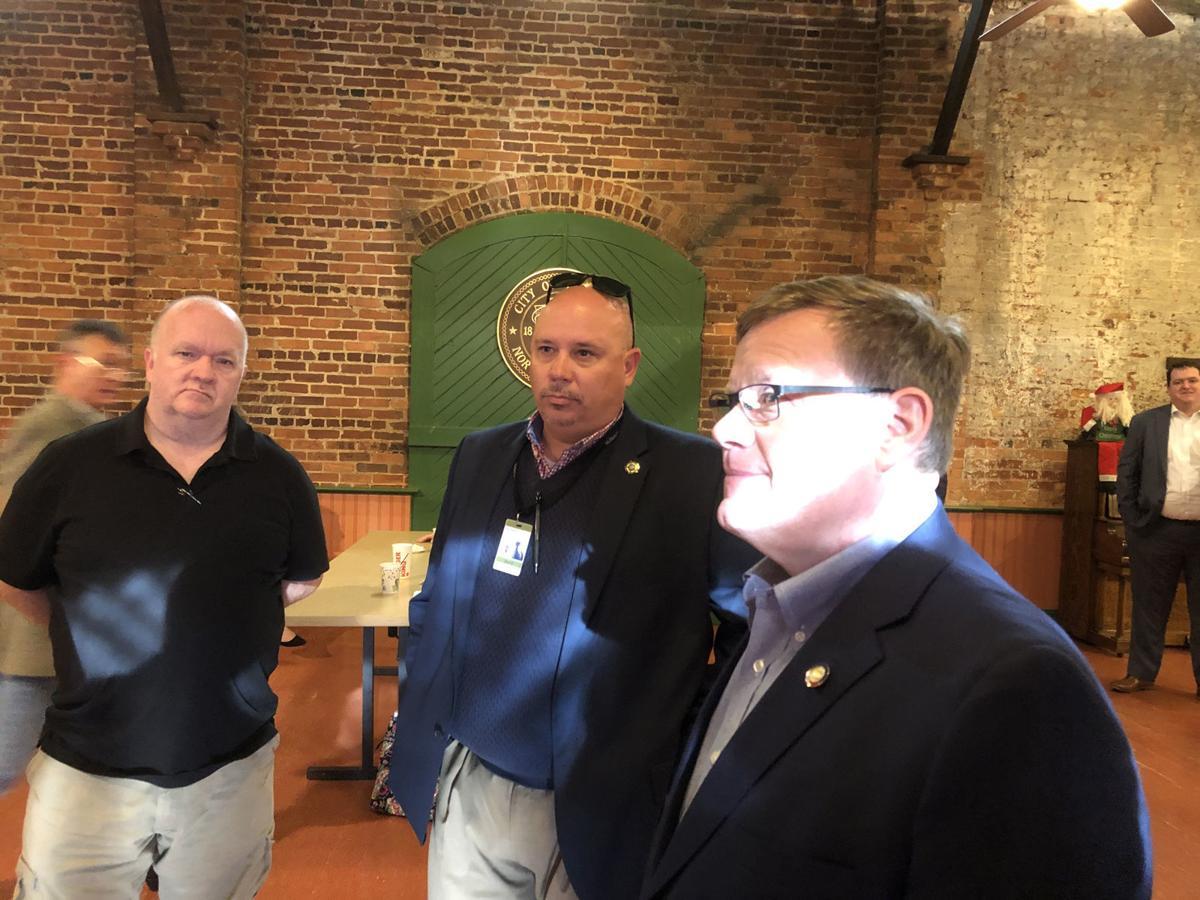 N.C. House Speaker Tim Moore visits Marion