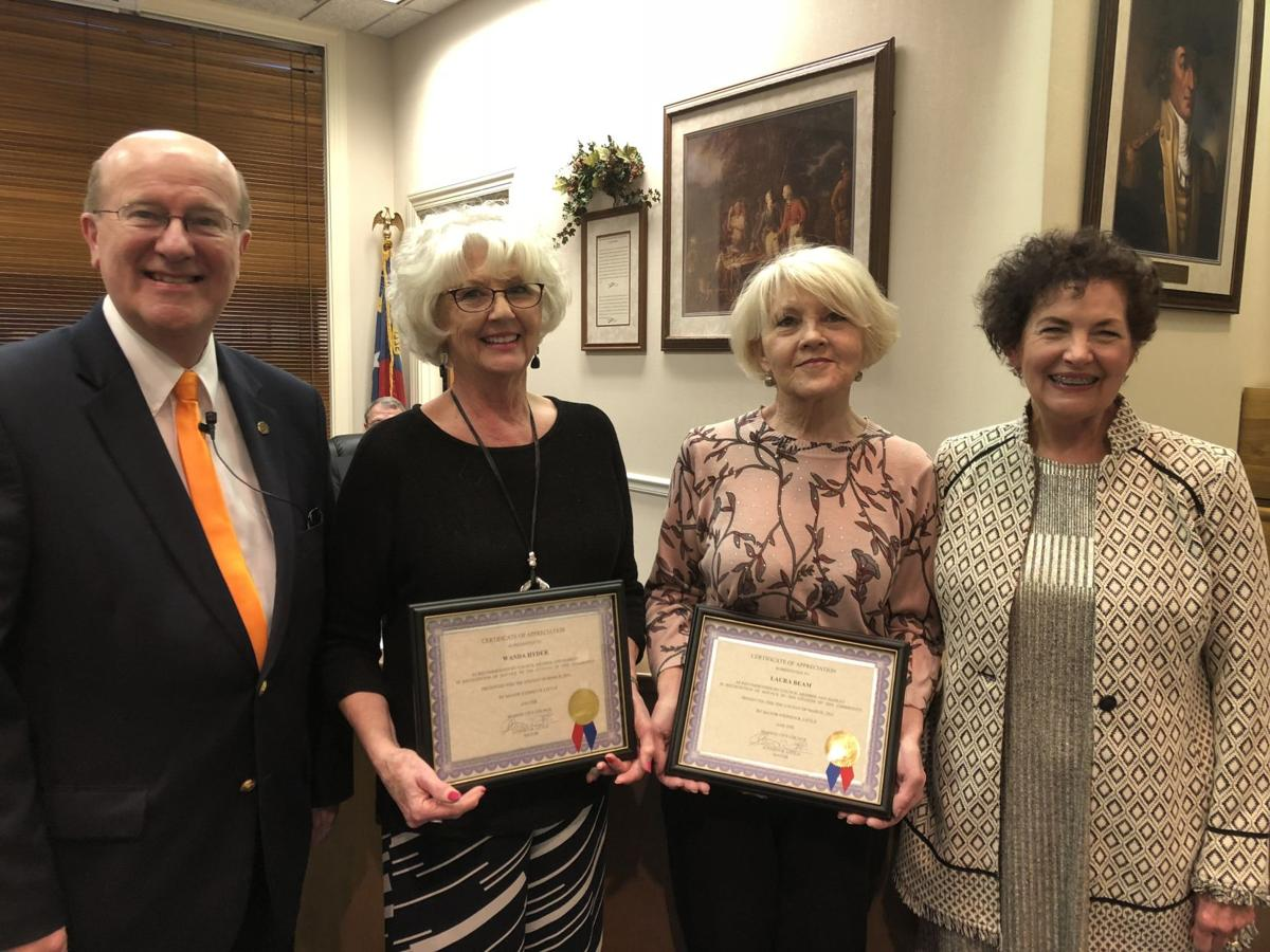 Marion City Council honors March Citizens of the Month