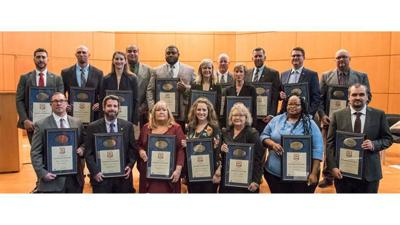 Special agent earns Badge of Excellence