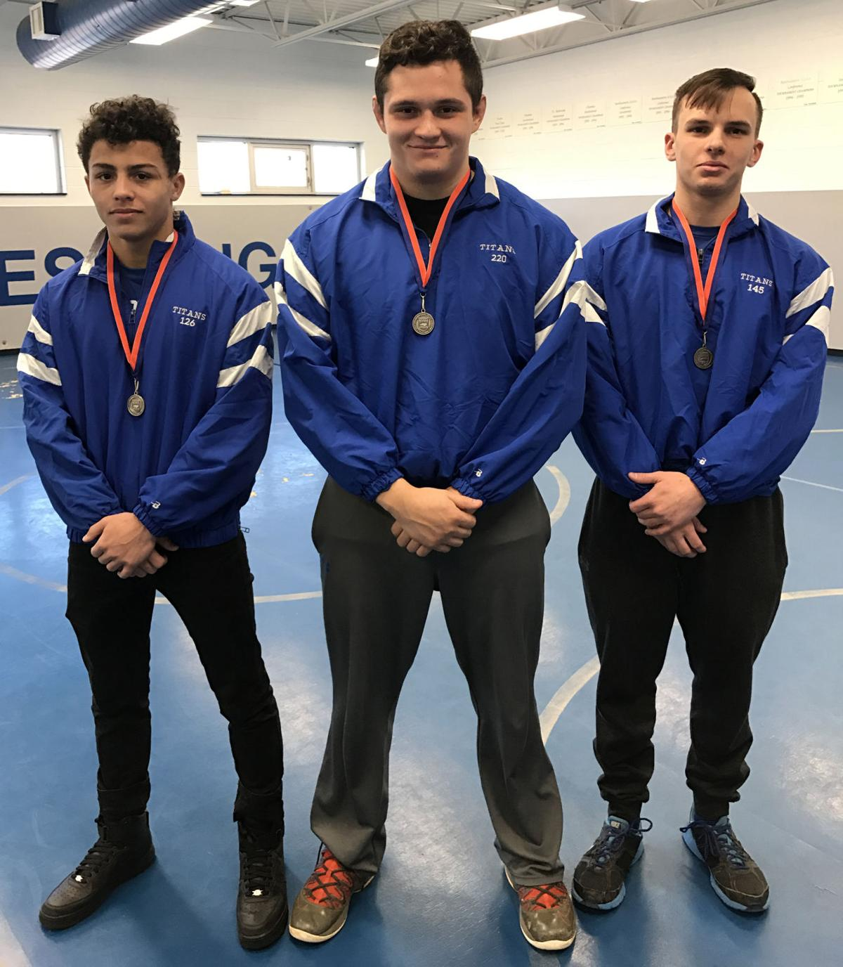Banged-up Titan wrestlers ready for State 4A Championships