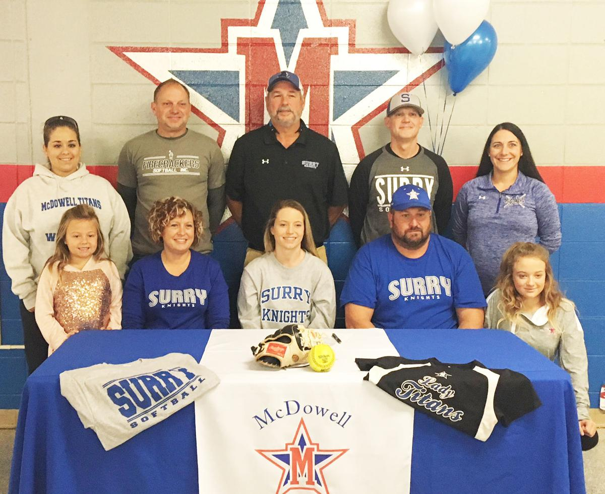 McDowell's Brown headed to Surry