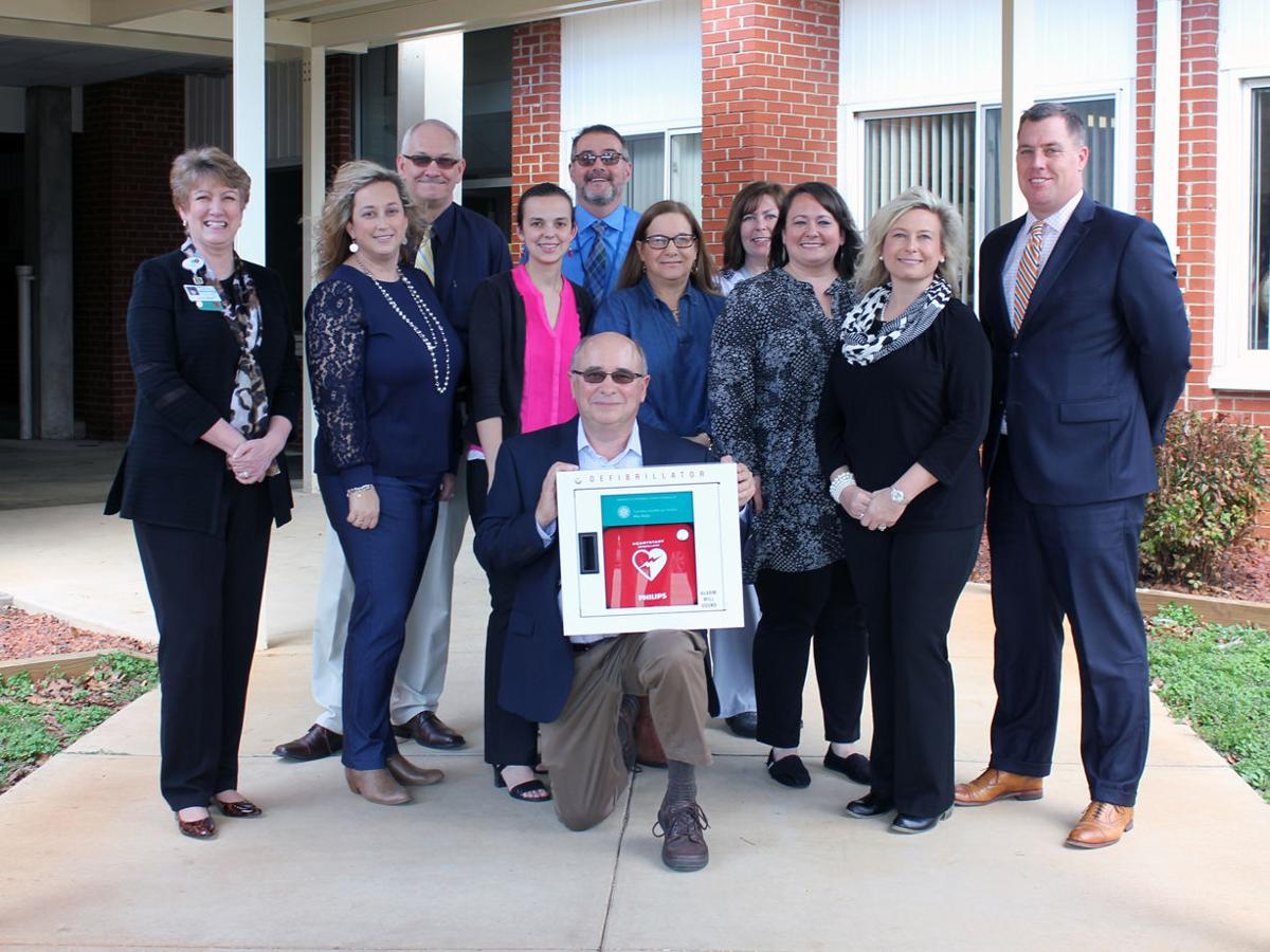 Carolina Health Systems Blue Ridge donates AEDs to McDowell schools