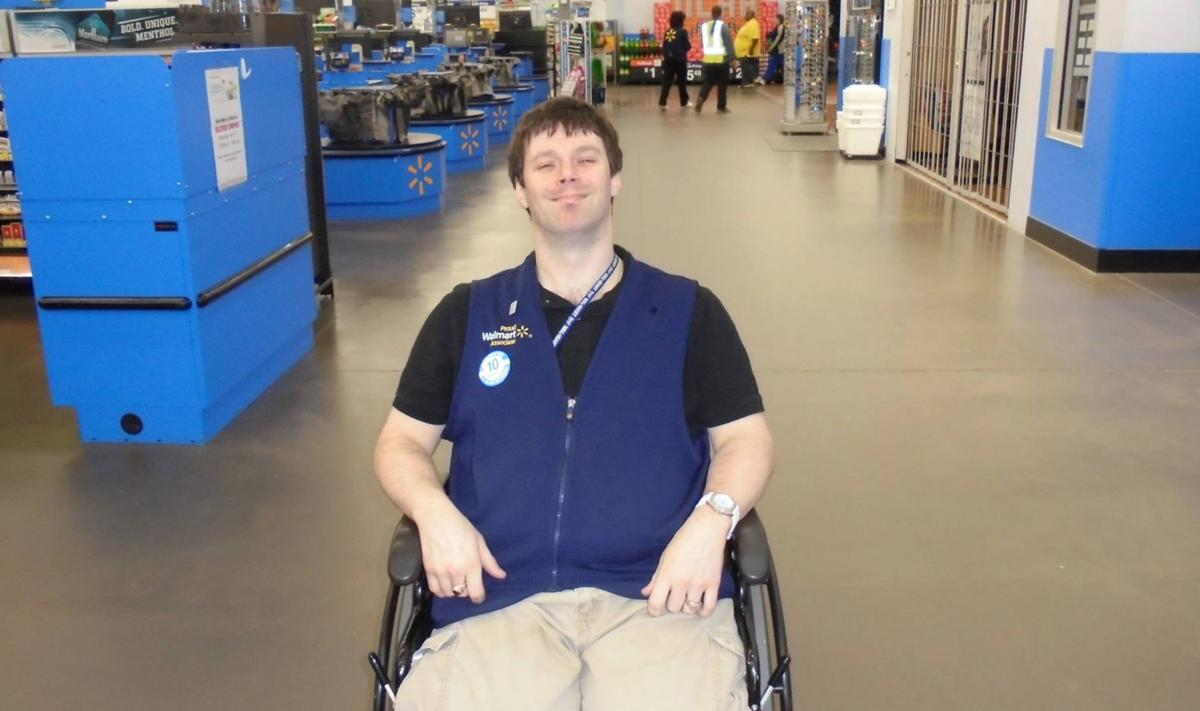 Disabled Walmart greeter may lose job due to new requirements