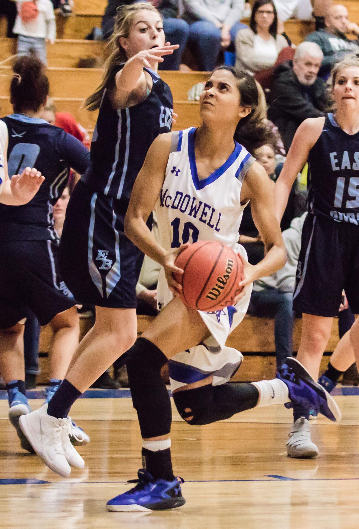 Unbeaten East Burke pounds Lady Titans