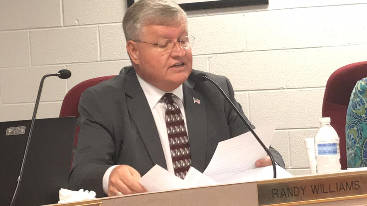 McDowell County Board of Education members spar during meeting