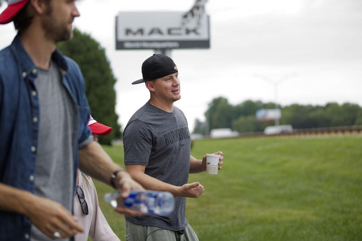 Channing Tatum visits Mack Truck HQ to promote new movie