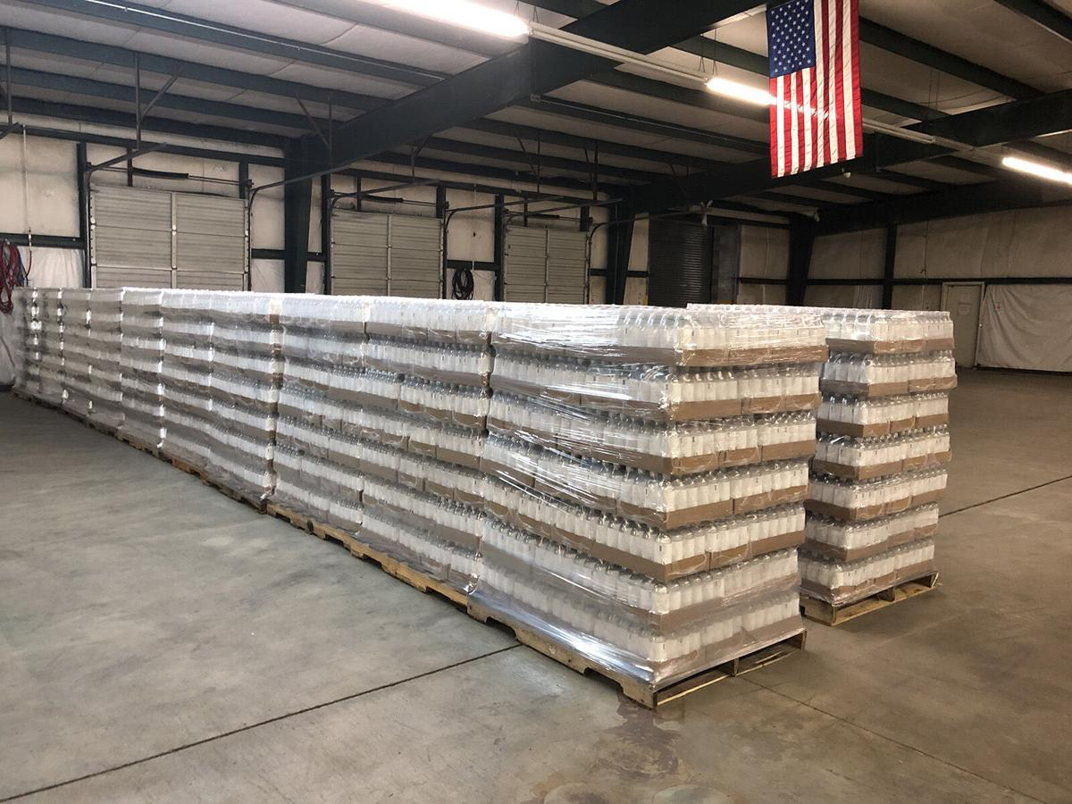 Company in McDowell sending truckload of bottled water to Houston
