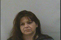 Woman found with meth after fleeing cops