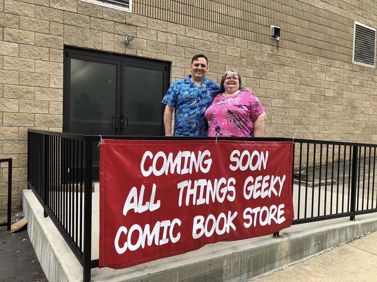 All Things Geeky comic book store opens Saturday
