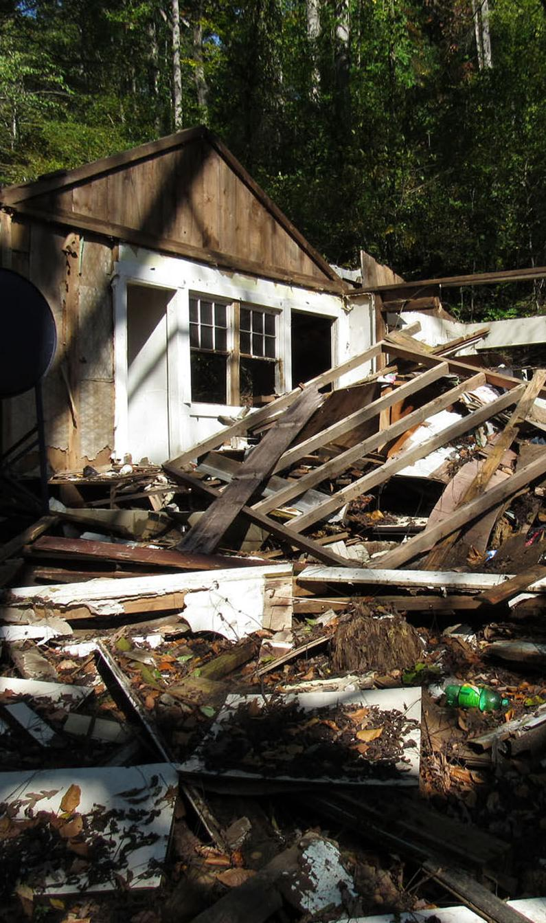 Someone demolished home, barn: Property owner was in assisted living