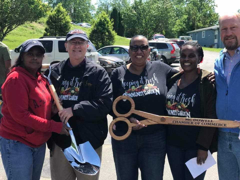 'Keeping It Fresh:' West Marion Community Forum breaks ground for new garden