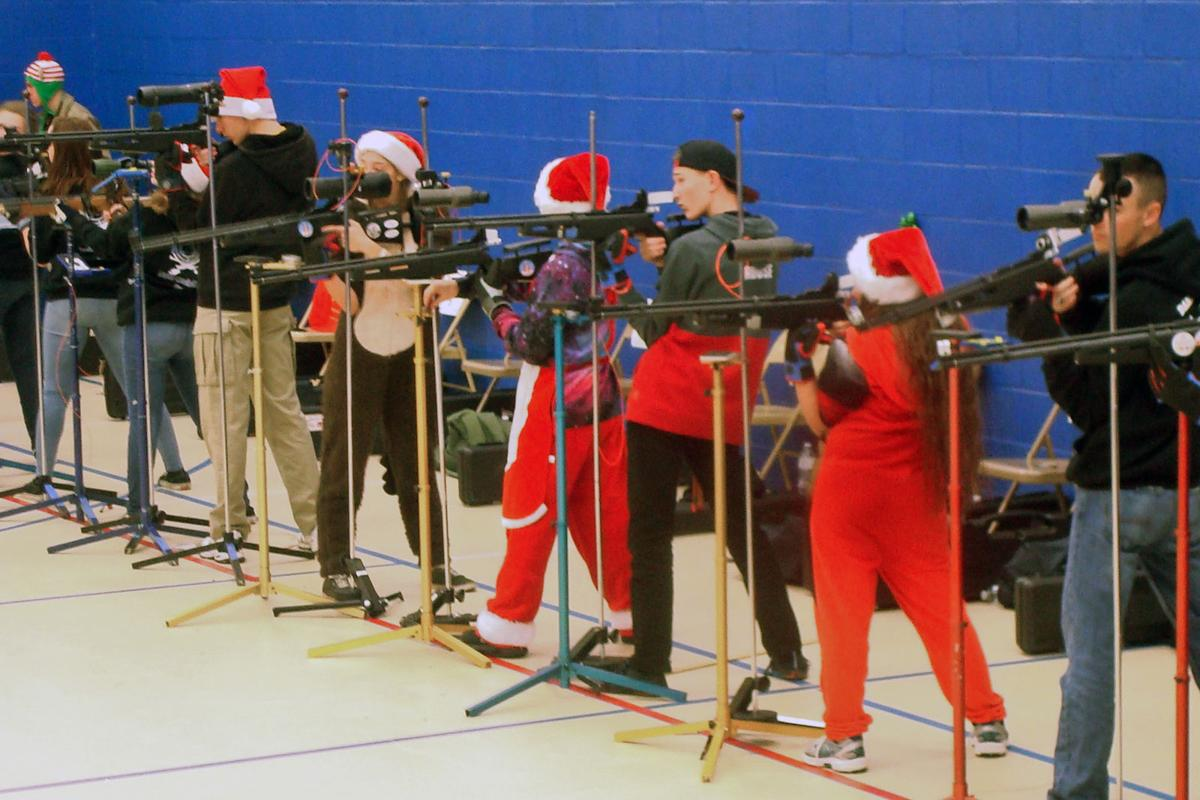Titan rifle team qualifies for state championship