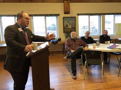 State Democratic Party chairman visits McDowell