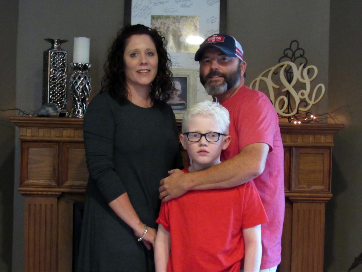Vision for Kash: Family raises money for son's electronic glasses