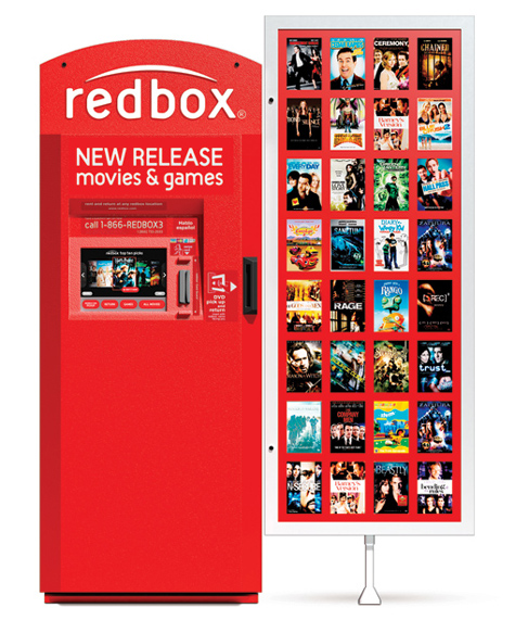 Redbox movie kiosk disappears in Old Fort