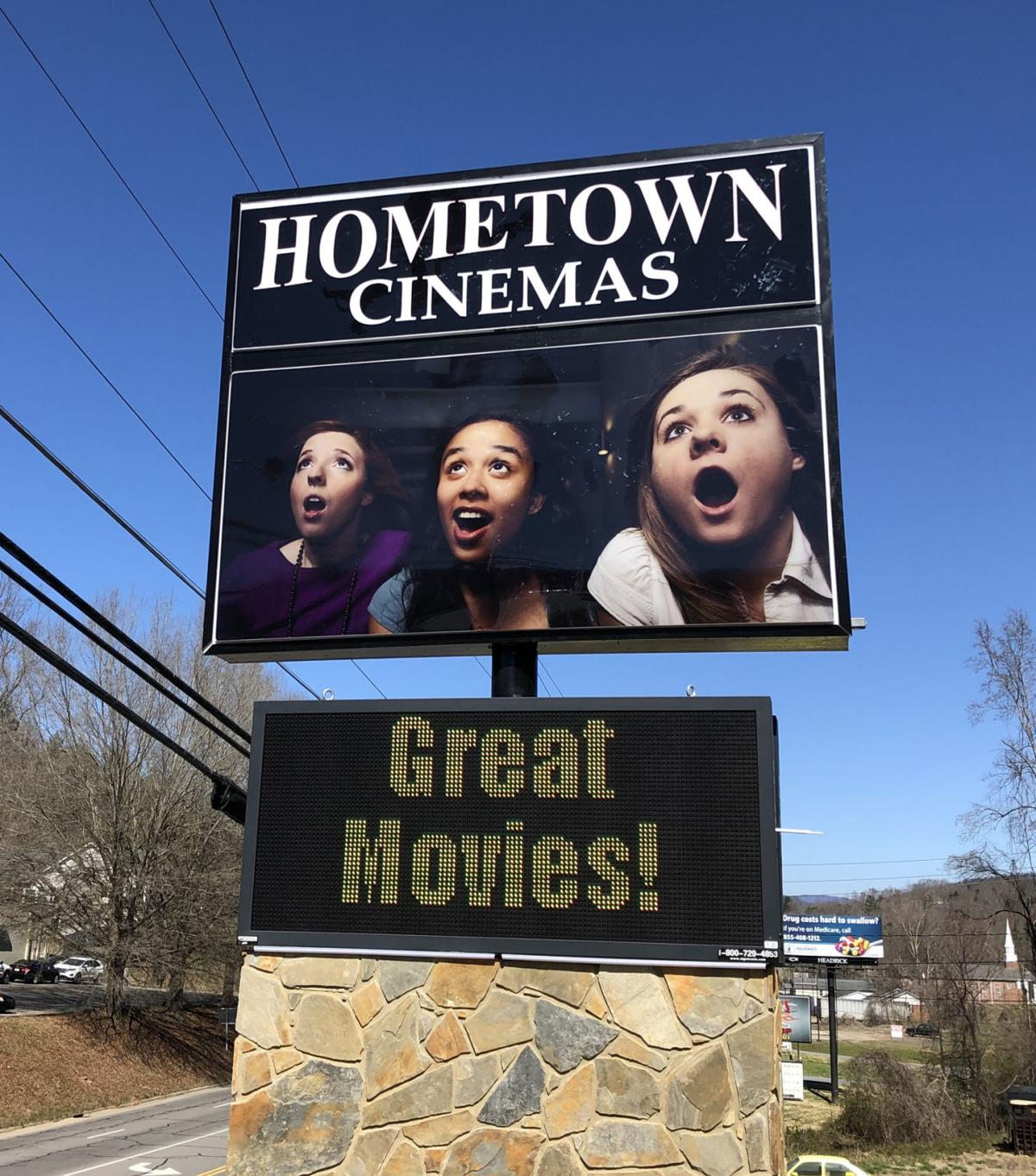 Hometown Cinemas posts update about renovation