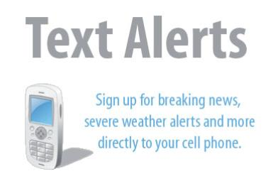 Sign up now for text message alerts | | mcdowellnews com