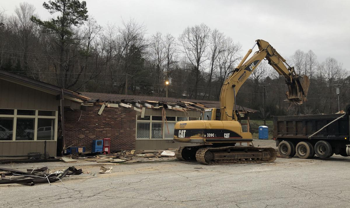 Old Steak House demolished for Dollar General store