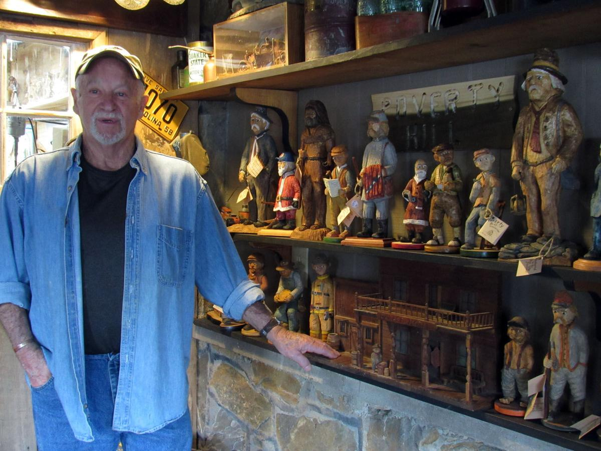 Carving out a niche: Former meat cutter turns to woodworking