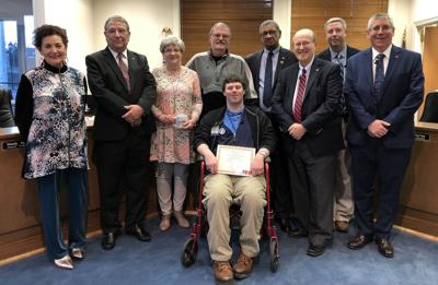 Melton honored as Citizen of the Month for March