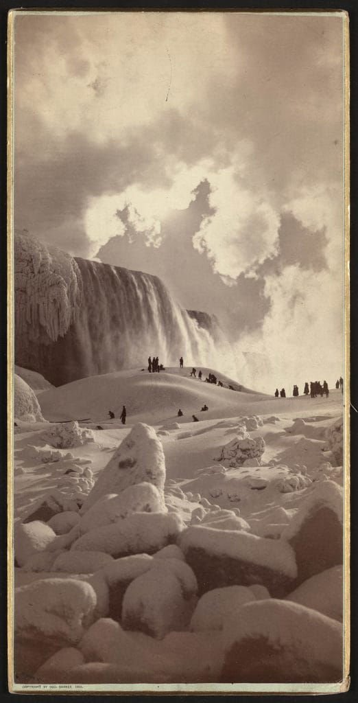 People used to walk to Canada across frozen-over Niagara Falls. An accident changed everything.