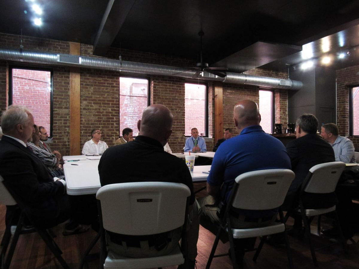 Attorney General Josh Stein visits McDowell roundtable