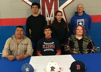 Titans' Campos to play at King University