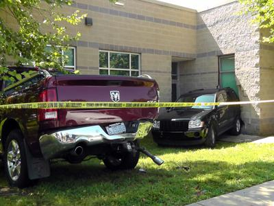 Vehicles hit McDowell Senior Center: County officials called to assess structural damage