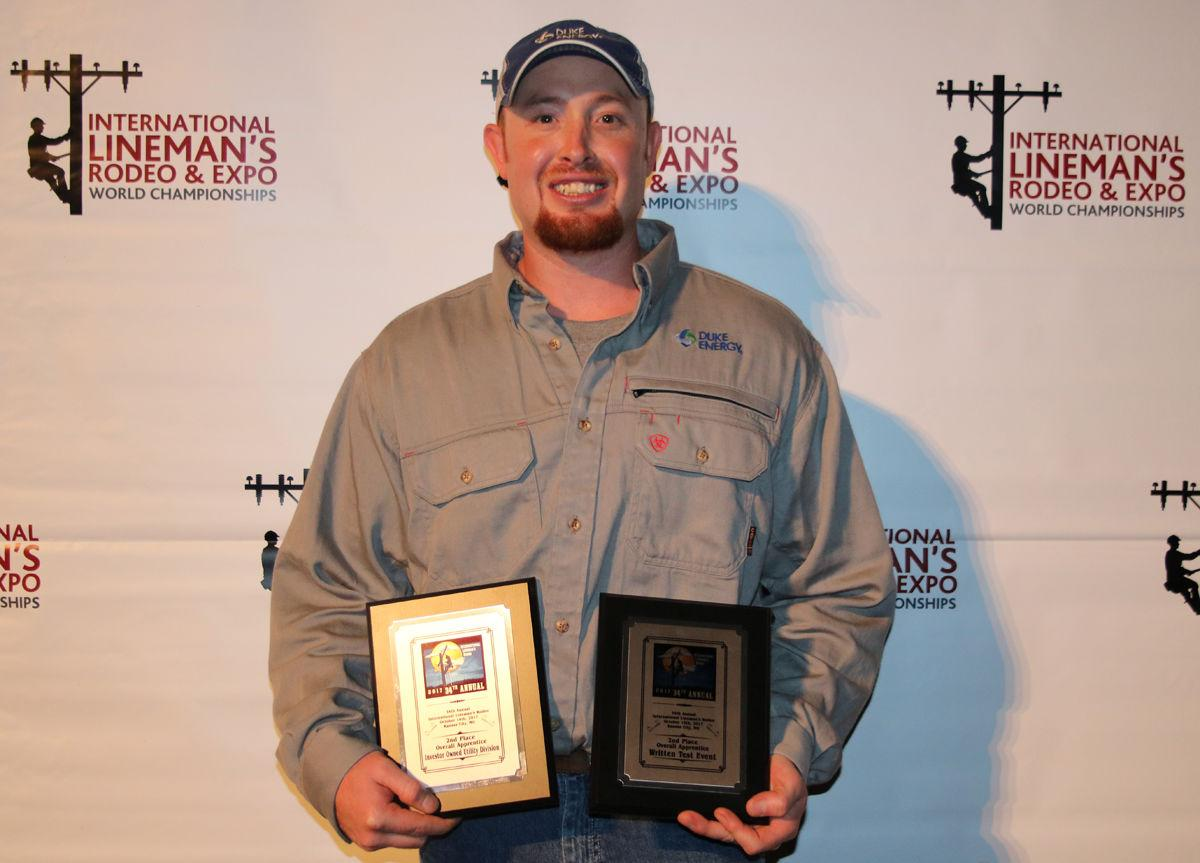 Duke Energy Lineman From Old Fort Places Second In World