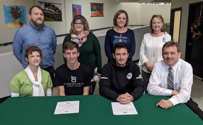 Titans' Hughes to play soccer at Montreat