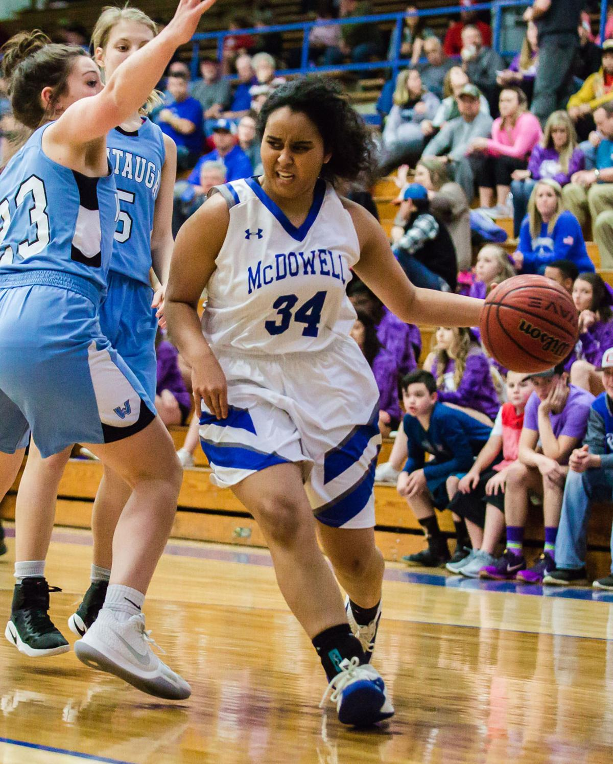 Triple threat: 3 MHS players selected for Blue-White Games