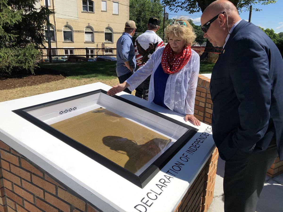 Charters of Freedom dedicated at McDowell County courthouse