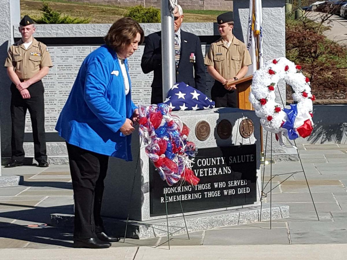 Photos From Mcdowell County S Veterans Day Ceremony