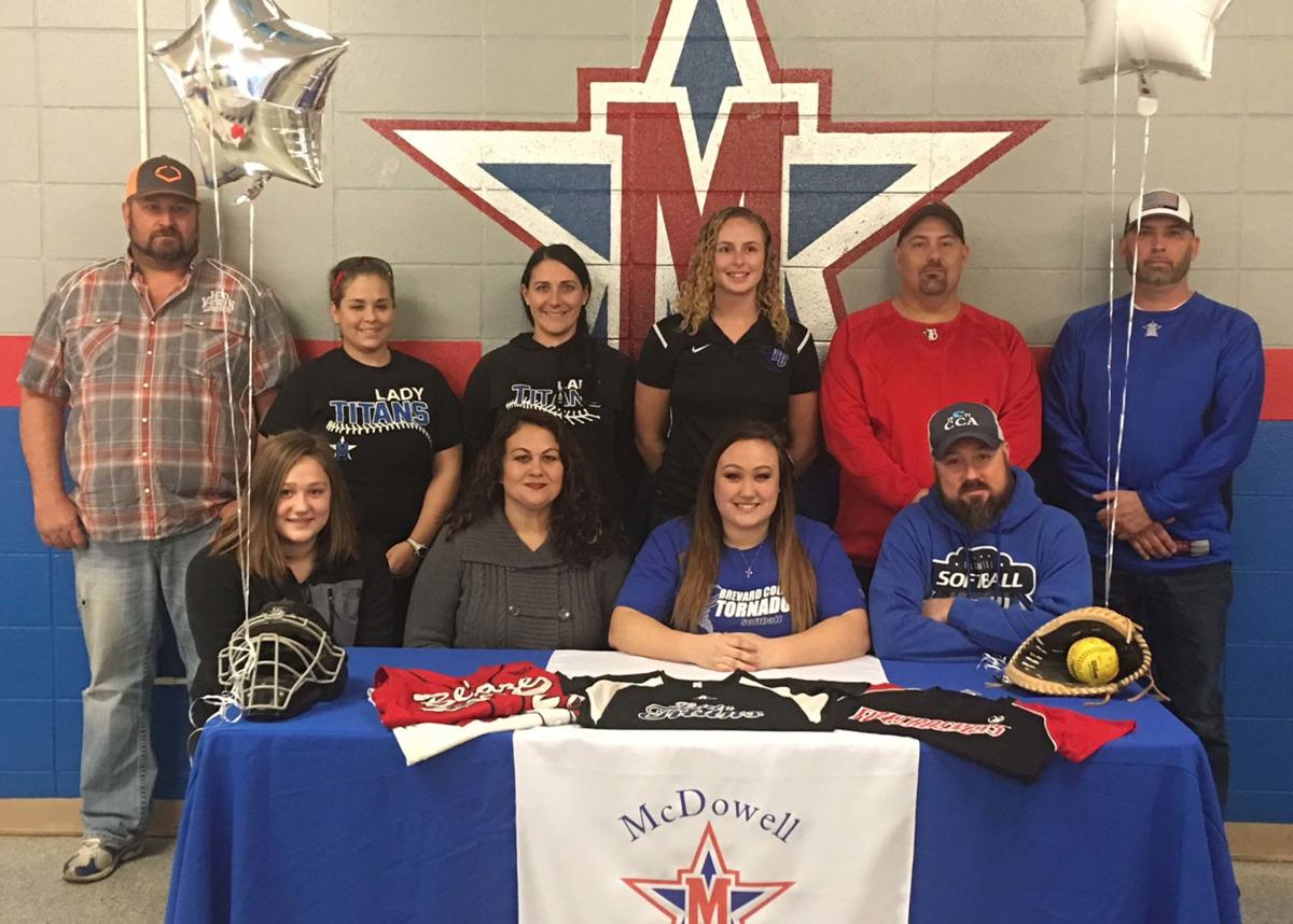 Lady Titans' Carroll to play softball at Brevard