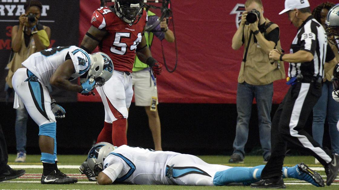 9a117d7d8 Panthers QB Cam Newton misses practice with concussion   News    mcdowellnews.com