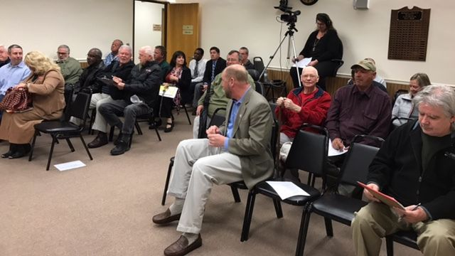 After public hearing, McDowell County Commissioners vote to move forward on buying former RockTenn building