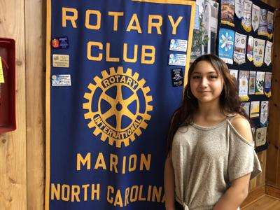 Rotary Club recognizes Student of the Week