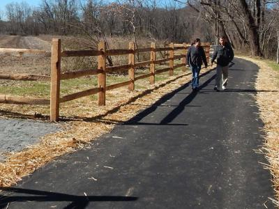 Greenway reopens today after flood damage repairs