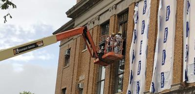 A smashing start: New windows to be installed in the courthouse