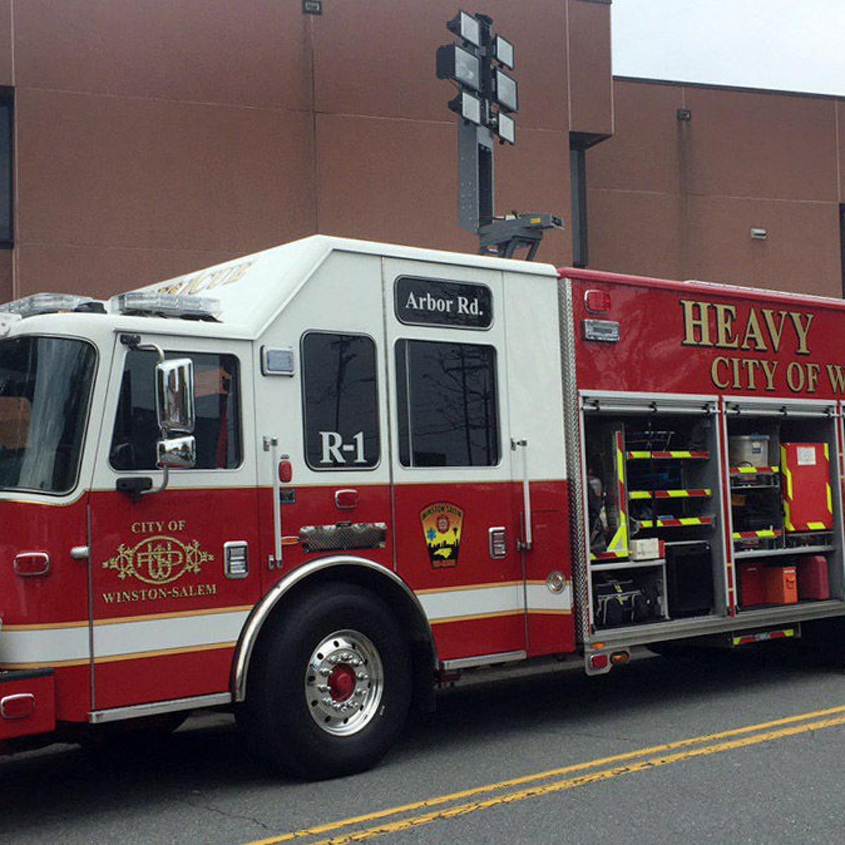 Winston-Salem Fire Department unveils heavy rescue truck