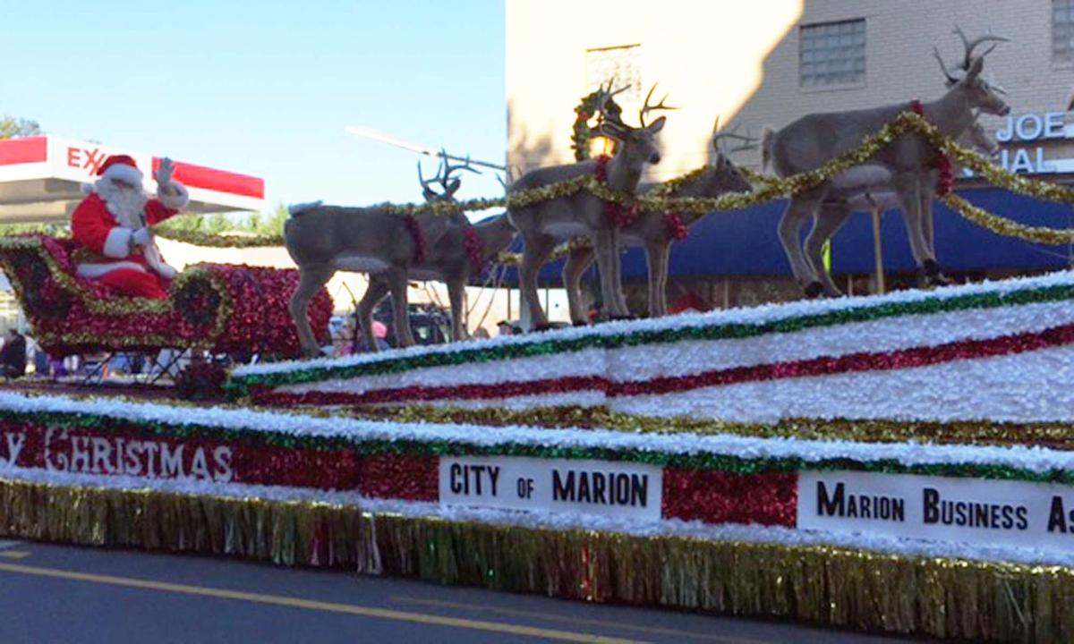 Marion's Christmas parade is Sunday; deadline to register is Thursday