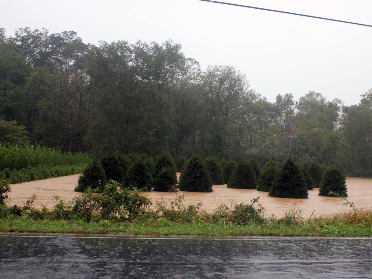 tropical storm michael road closures flooding landslides hit